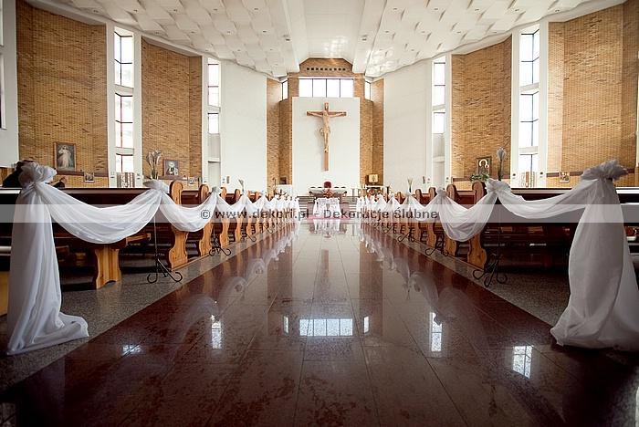 Dekoracja Kościoła Wesele Forum Gdańsk Gdynia Sopot
